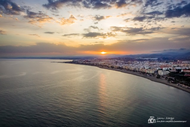 Sunset in Estepona