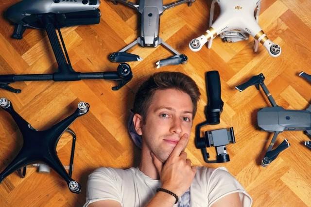 3 years using DJI drones