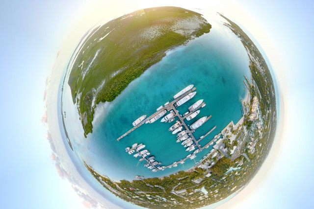 Tiny Planet Turks and Caicos