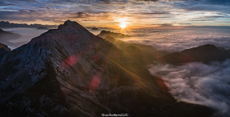 Sunrise monte Arera