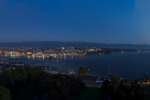 Sunrise Over Geneva