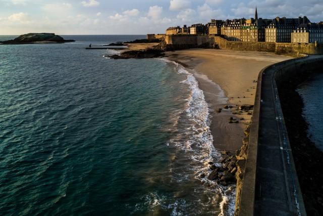 Saint Malo, môle des Noires