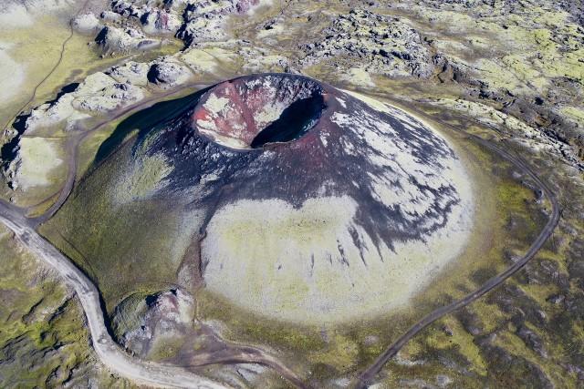 Iceland extinct volcano