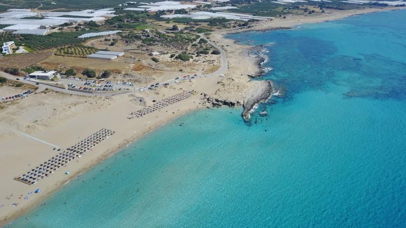 Beach falasarna in Crete,GREECE