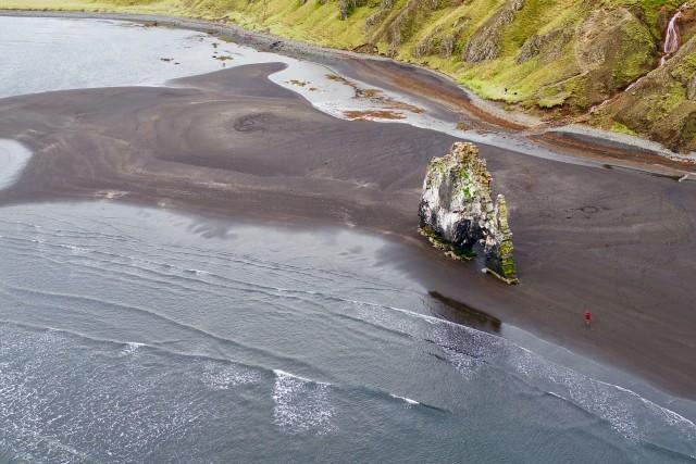 Iceland rock formation