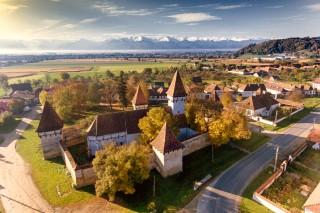 Cincsor Fairytale Village in Transylvania, Romania