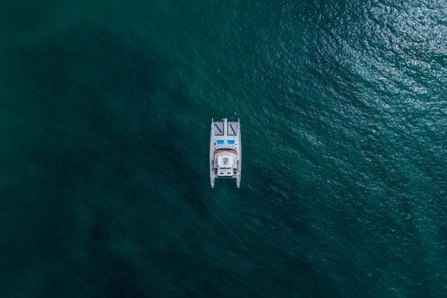 Catamaran to Isla Tortuga