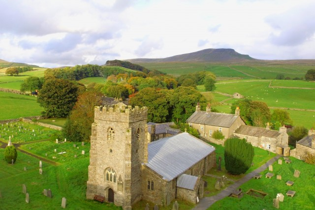 Horton in Ribblesdale and Pen Y Ghent, Yorshire, UK