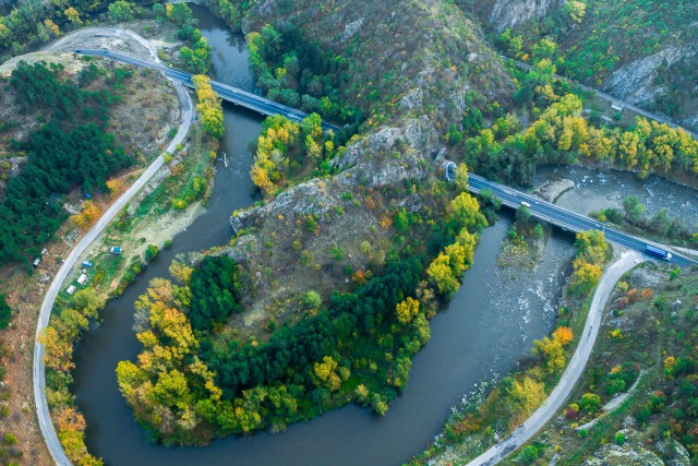 Struma river, Kresna, Bulgaria