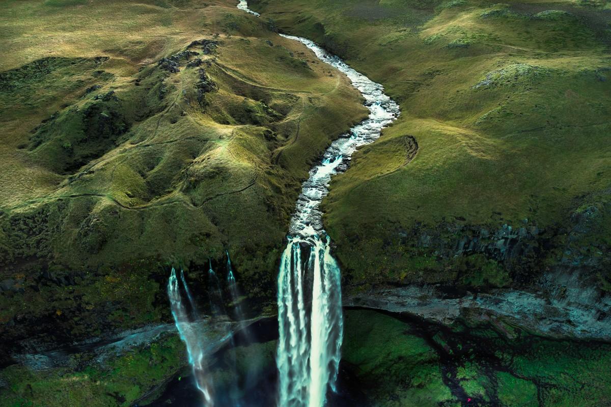 SELJANDSFOSS waterfall Iceland