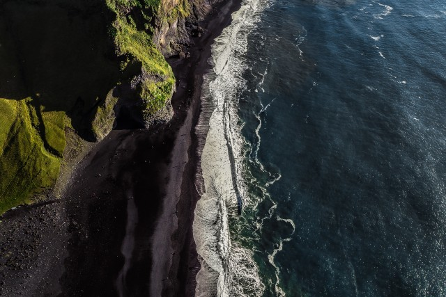Balck beach Iceland