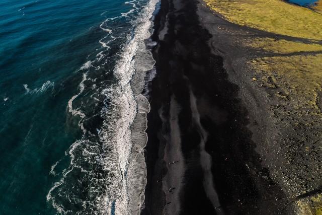 Balck sand beach Iceland