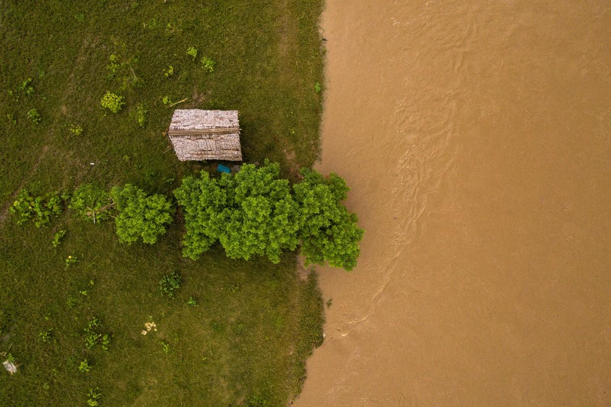 River Hut – Chiang Mai – Thailand Aerial
