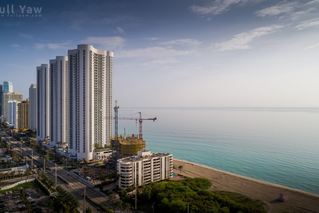 Upscale Hi Rise Town Homes in Sunny Isles Florida