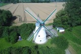 old windmill in the north of Lower Saxony, Germany