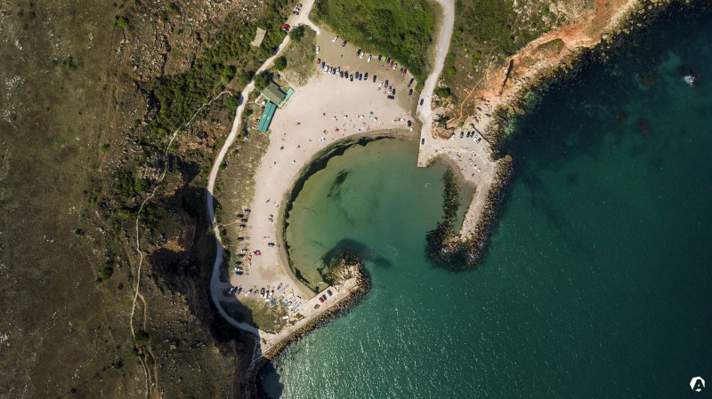 Bolata Bay From Above