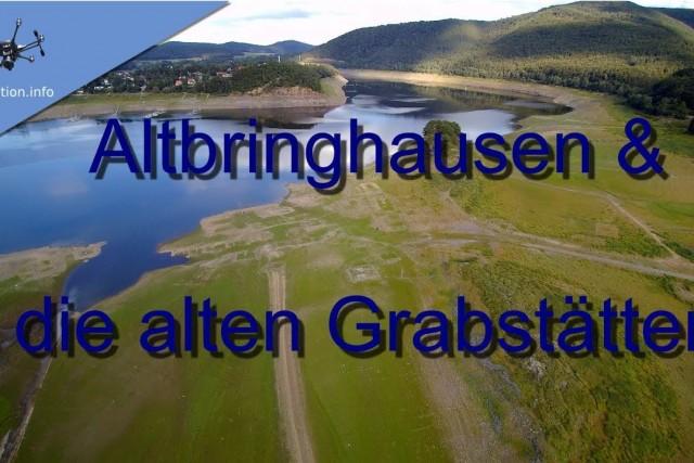 Das Atlantis im Edersee Teil 3 – Altbringhausen und die alte Grabstätten