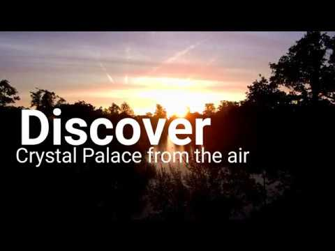 Discover Crystal Palace Park from the air series