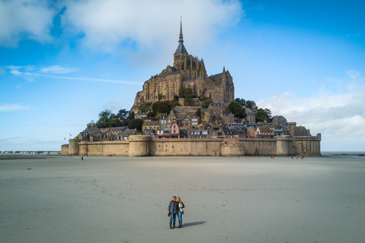 Mont St-Michel, Normandy, France