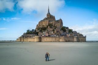 Mont St-Michel, Normandy, France
