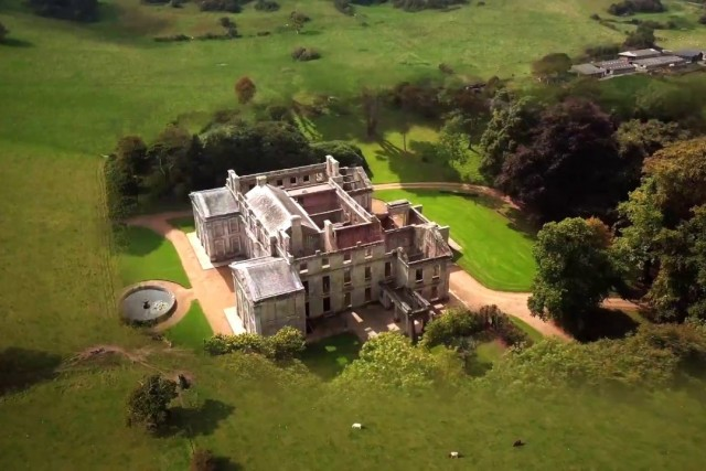 Haunted Ruin – Appuldurcombe House – Isle of Wight by Drone 4K