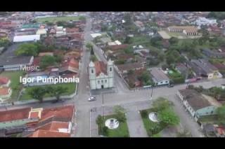 Historic mansion burned in Iguape/SP – Brazil