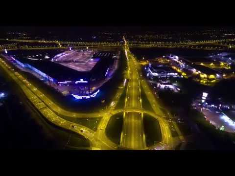 HYPERLAPSE – NIGHT CITY TRAFFIC – Gliwice