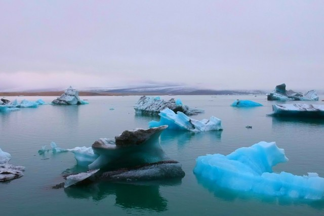 Jökulsárlón Lagoon in Iceland
