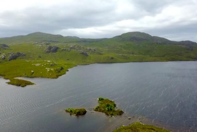 Las Highlands a vista de Dron
