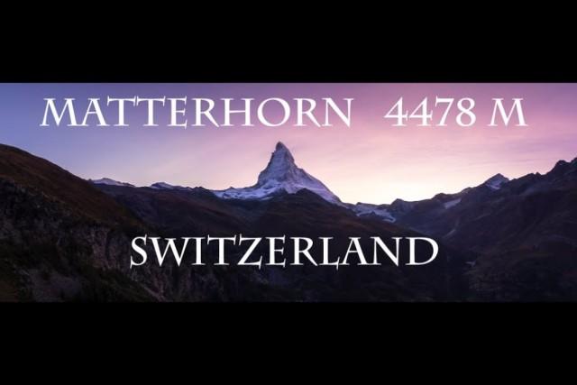 MATTERHORN SWITZERLAND GLACIER PARADISE
