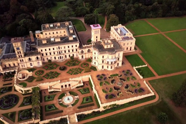 Osborne House – Home of Queen Victoria – Isle of Wight