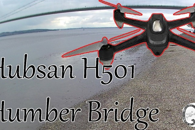 River Humber. Hubsan X4 H501 flights.