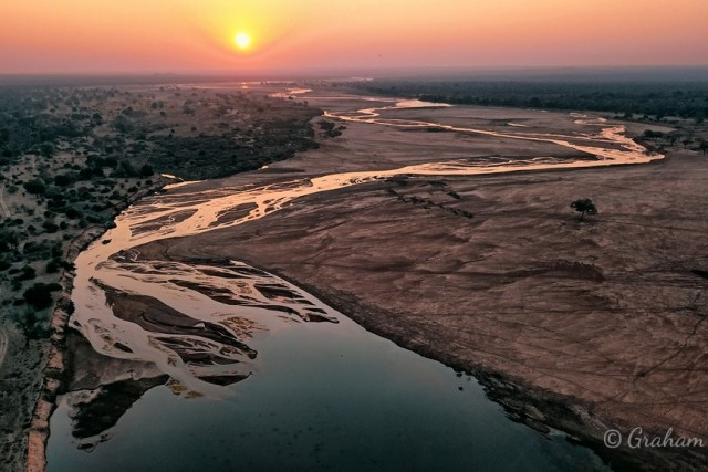 African River Sunset