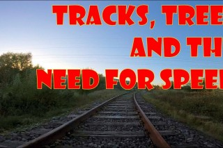 Tracks, trees and the need for speed
