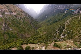 Vikos, village and the record  Guinness Cannyon