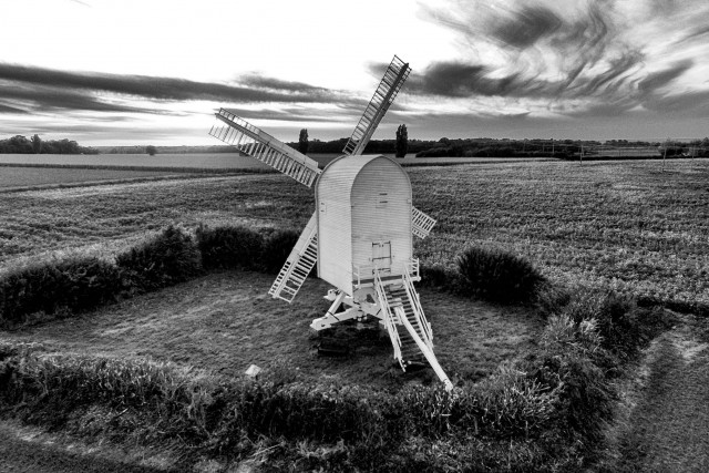 Windmill at Chilenden