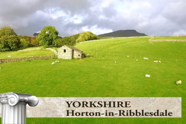 Yorkshire Dale NP, Horton in Ribblesdale, UK