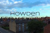 Yuneec Breeze 4K Quadcopter flight. Evening shot over Howden as the sun sets