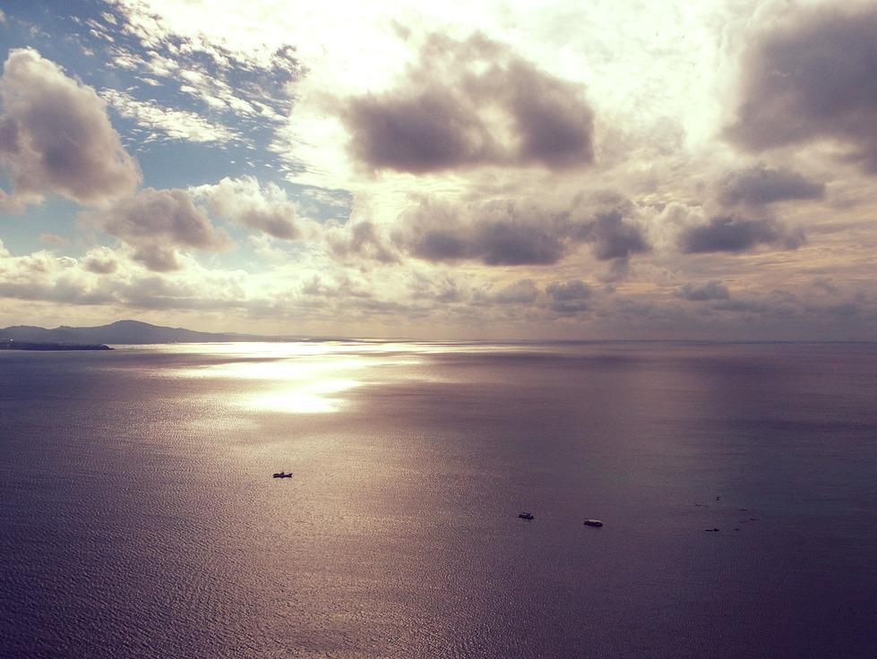 Autumn in okinawa's ocean