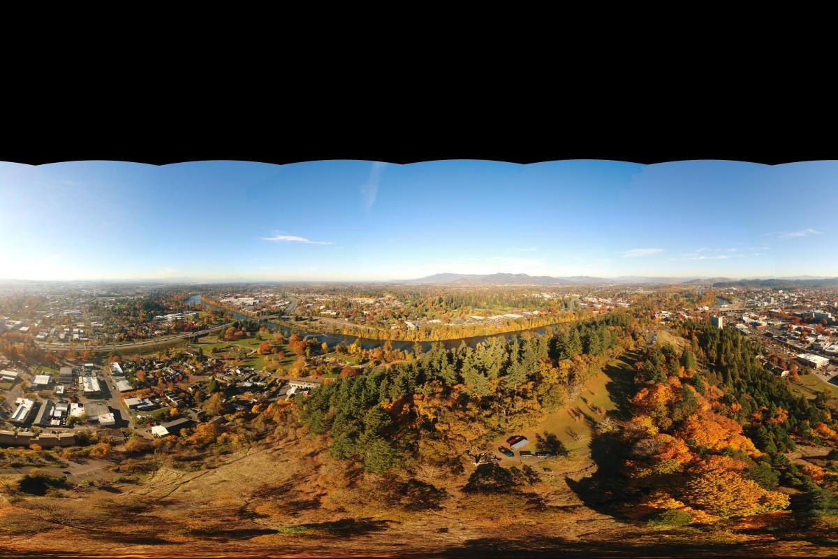 Skinner Butte- 360 degree panorama