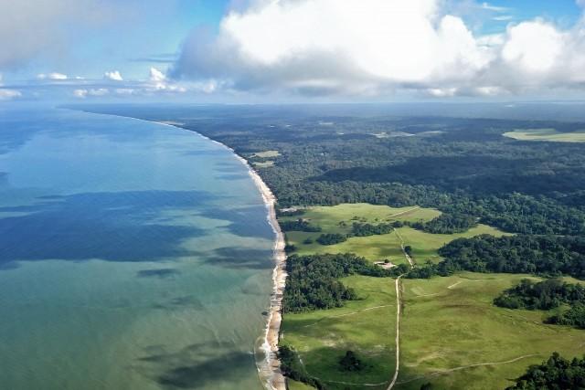 Baie de Nyonié au Gabon