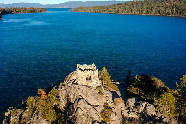 Fannet Island Lake Tahoe