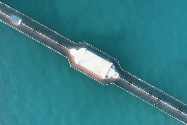 Diagonal Pier