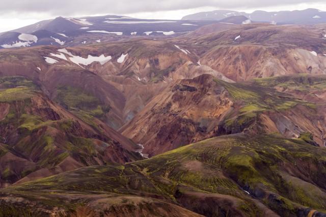 Landmannalaugar mountains