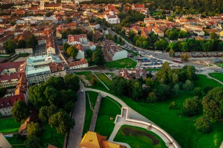 Vilnius city defensive wall