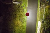 Diglis locke and bridge at night