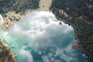 Lago di Fusine autumn