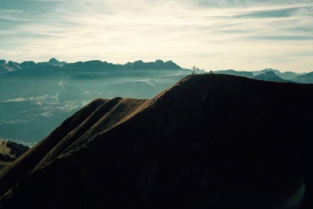 Le Môle et sa croix – Haute Savoie