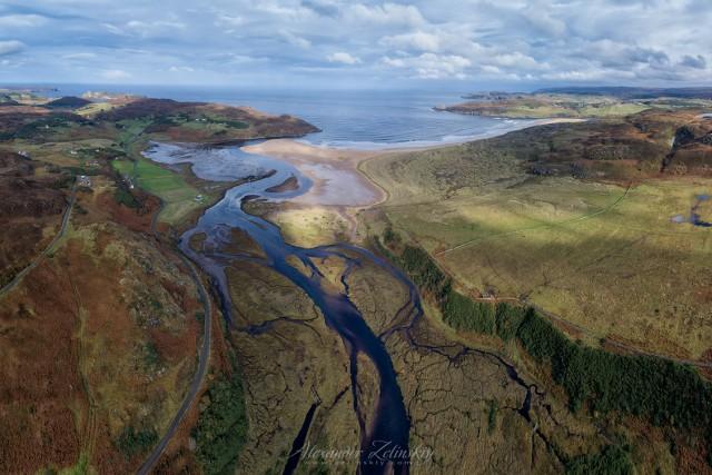 Torrisdale Bay and River Borgie
