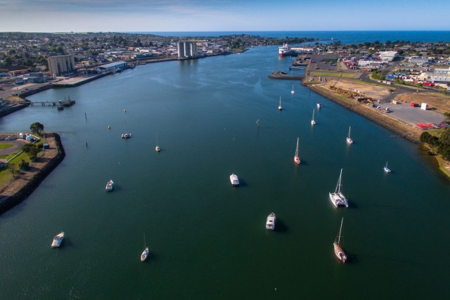 The Port of Devonport, Tasmania (Australia)